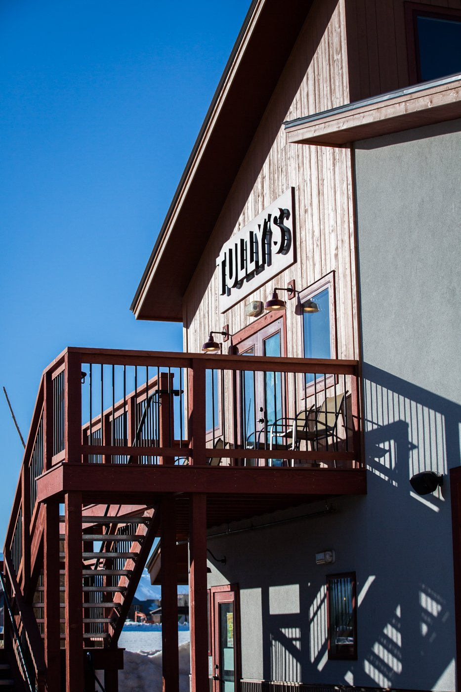 Tully's outside sign
