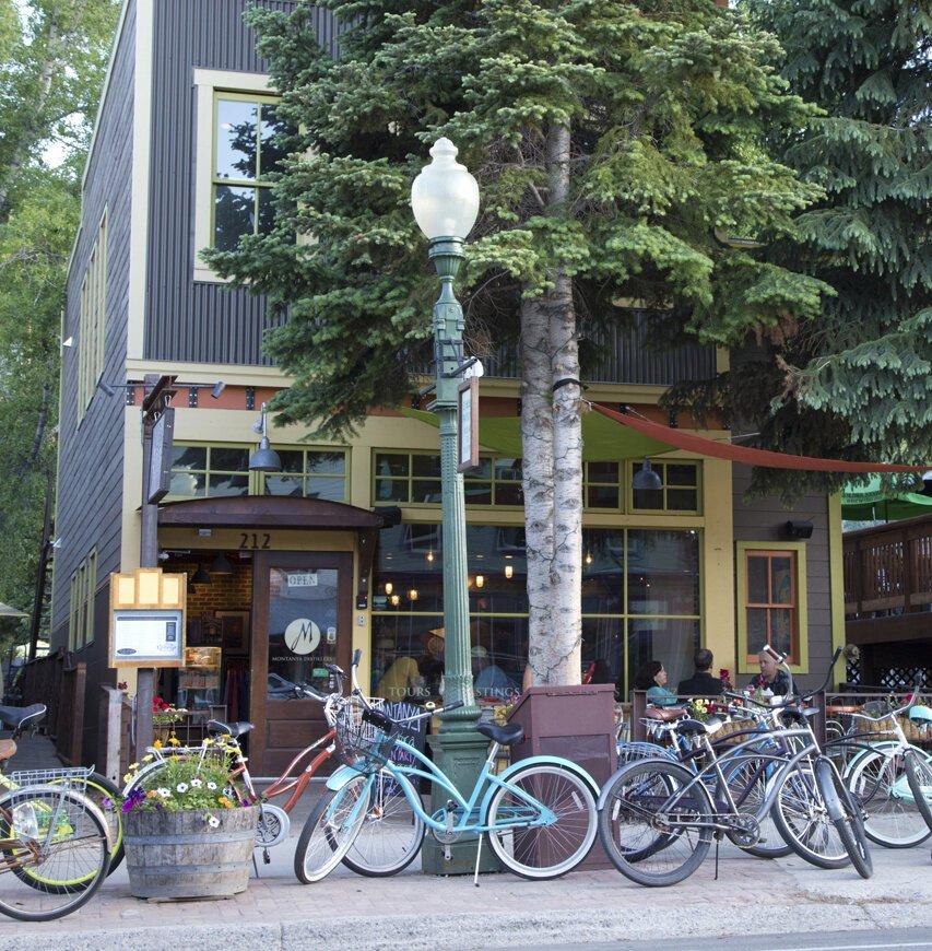 Montanya's with bikes