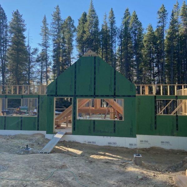 SaddleRidge Road House sides under construction